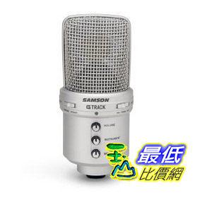 [103 美國直購] Samson G-Track USB Condenser Microphone with Audio Interface電容式 USB 麥克風 內建音效介面 $5564