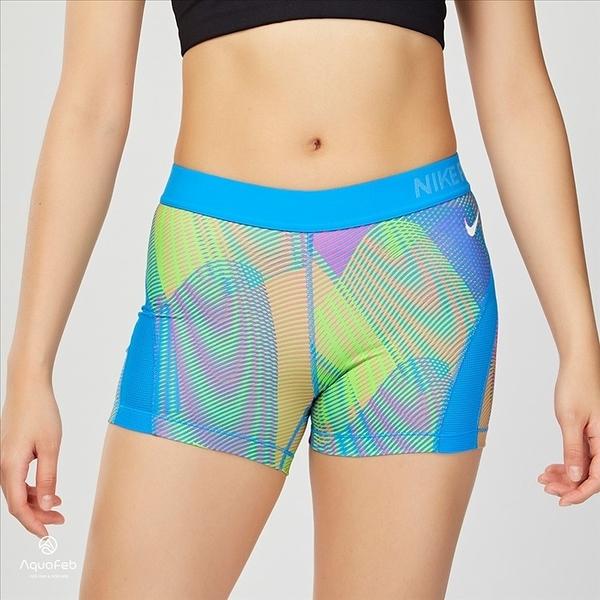 Nike Pro HC Frequency Short 女子 運動 訓練短褲 彩虹紋 725613-435