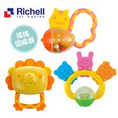 日本Richell利其爾搖搖動物固齒器 安撫固齒器 安撫玩具 嬰兒玩具