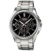 CASIO MTP-1375D-1AV 質感時尚三眼腕錶 MTP-1375D-1AVDF 熱賣中!