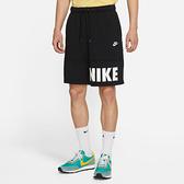 NIKE AS M NSW SPE+ FT SHORT HBR 男款 運動短褲 黑色 DD4723010 【KAORACER】