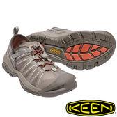 【KEEN 美國】MCKENZIE II 男護趾水陸 兩用鞋『淺咖啡/深咖啡』1017237 健行|溯溪|健走|海邊|沙灘