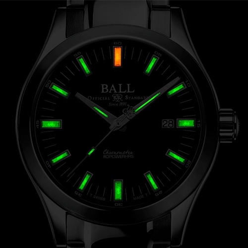 BALL波爾Engineer M Marvelight機械腕錶 NM2128C-S1C-BK 黑