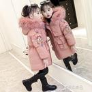 兒童棉衣 女童羽絨2020新款韓版中大童加厚兒童冬裝棉服襖外套女孩童裝 原本良品
