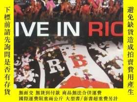 二手書博民逛書店RBD演唱會DVD《Live罕見In Rio》 EMI原版DVD