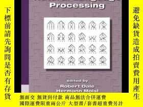 二手書博民逛書店Handbook罕見Of Natural Language Processing-自然語言處理手冊Y43663