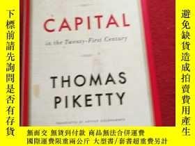二手書博民逛書店CAPITAL罕見in the Twenty-First CenturyY14850 Thomas Piket