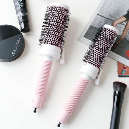 韓國 DAISO 大創 神級捲髮梳 M號/L號 38mm 48mm 梳子 美髮梳 造型梳 髮梳 捲髮 內捲 劉海
