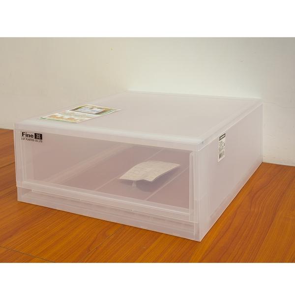 收納箱/置物箱/衣櫃 日系 小清新 可自由堆疊 收納抽屜櫃系列 H (L單入)  dayneeds