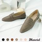 樂福鞋 尖頭橫帶樂福鞋 MA女鞋 T52836