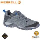 【MERRELL 美國 男 ALVERSTONE GORE-TEX健行鞋《深灰色》】ML034539/健走鞋/休閒鞋/戶外鞋