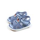 兒童鞋 涼鞋 嗶嗶鞋 童鞋 灰藍色 中童 B038 no178