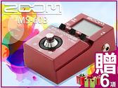 【小麥老師 樂器館】現貨►買1贈6►ZOOM MS-60B 貝斯 單顆型綜合 效果器 MS60B