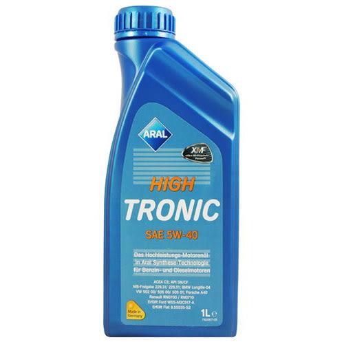 【ARAL】 HIGH TRONIC 5W40 全合成 機油 SHELL MOBIL