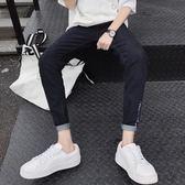 男士牛仔褲韓版潮流修身小腳14男生庫16歲薄款九分初中學生褲子男   圖拉斯3C百貨