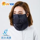 UV100 防曬 抗UV-全防水透氣護頸口罩