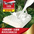 【班尼斯國際名床】~按摩型天然乳膠枕頭(附贈抗菌布套、手提收納袋)‧壹百萬馬來保證
