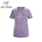【ARC TERYX 始祖鳥 女 Arc Word休閒T恤《深未來紫》】28034/短袖T恤/運動衫/吸濕排汗/跑步