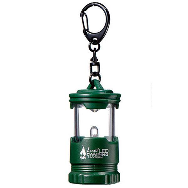 Luxsit LED mini露營燈 綠色 戶外 鑰匙圈 LT012CR