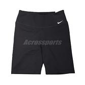 Nike 短褲 One Shorts 女款 黑 快乾 中腰 緊身 無縫 口袋 【ACS】 DD0244-010