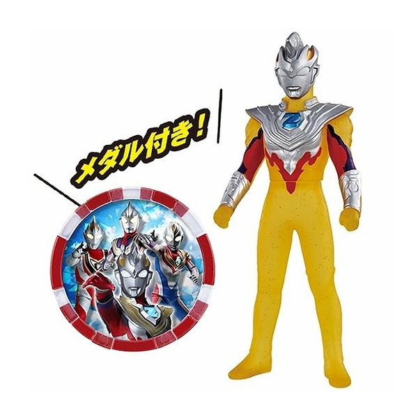 超人力霸王 軟膠公仔 傑特 伽瑪未來形態 會場限定色 附徽章 【鯊玩具Toy Shark】