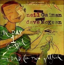 【麥克書店】THE DAY I SWAPPED MY DAD FOR TWO GOLDFISH /英文繪本附CD