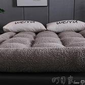 免運床墊加厚床墊毛毯羊羔絨褥子冬季被褥鋪底家用臥室雙人軟墊被一米二五 【618特惠】