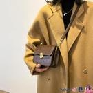熱賣斜背包 春季高級感包包女2021新款潮時尚鱷魚紋側背小方包百搭斜背包 coco