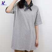 【春夏新品】American Bluedeer - 後領刺繡長版衣 二色