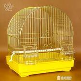 新年禮物-小型鸚鵡籠 虎皮牡丹文鳥籠 鳥用金屬籠 珍珠鳥籠相思鳥 觀賞鳥籠WY