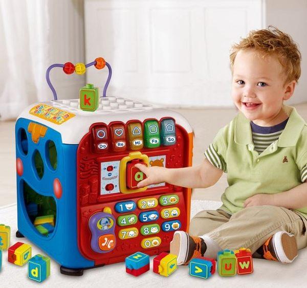 VTech 聲光積木學習寶盒