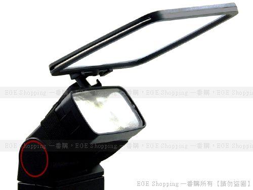 EGE 一番購】多功能通用型機頂閃光燈柔光板 反射板 反光板 金-銀-白-半透四色 含收納袋