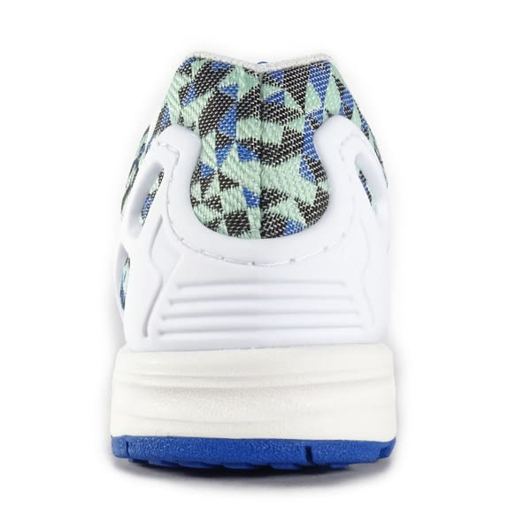 new product 0657c c86f7 Adidas ZX Flux Weave [B34474] 男鞋 運動 慢跑 休閒 藍 白 愛迪達
