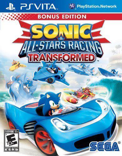 PSV Sonic and All-Stars Racing Transformed Bonus Edition  SEGA 超級巨星大賽車:變形(美版代購)