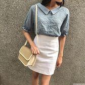編織包 斜挎包時尚百搭草編包學生韓版夏天小包包 巴黎春天