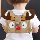 防走失繩 防小孩帶寶寶學步牽引繩防走丟腰帶嬰兒童夏季透氣走失兩用肩背帶