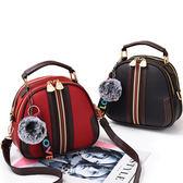 新品女包正韓潮拉鍊百搭個性手提包少女單肩側背包斜背包小包 聖誕交換禮物