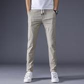 冰絲夏天褲子男士超薄款夏季透氣運動潮流空調夏褲夏裝修身休閒褲