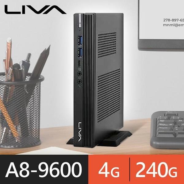 【南紡購物中心】精英系列【mini書本】A8 9600四核 迷你電腦(4G/240G SSD)《A320》