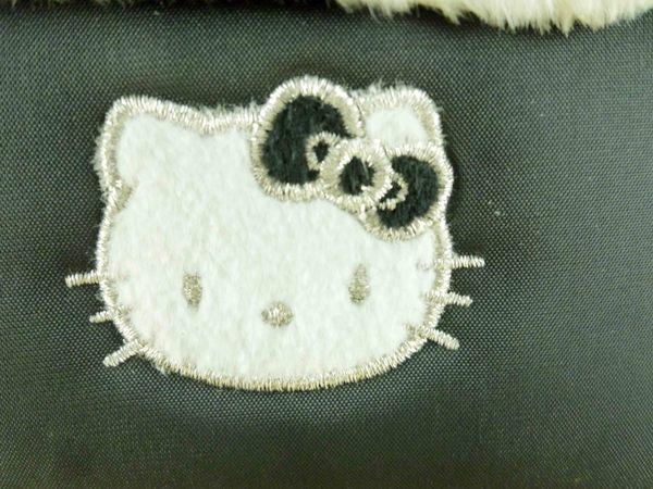 【震撼精品百貨】Hello Kitty 凱蒂貓-凱蒂貓皮夾/短夾-牛紋圖案