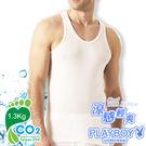 【PlayBoy】台灣製 日本涼感纖維羅紋背心(單件) PB928
