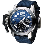 GRAHAM 格林漢 左冠計時機械腕錶 2CCAC.U01A.T22S