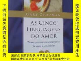 二手書博民逛書店AS罕見CINCO LINGUAGENS DO AMOR:Com