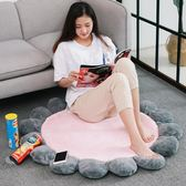 INS北歐圓形地墊少女心臥室床邊床前墊子家用網紅飄窗裝飾地毯韓