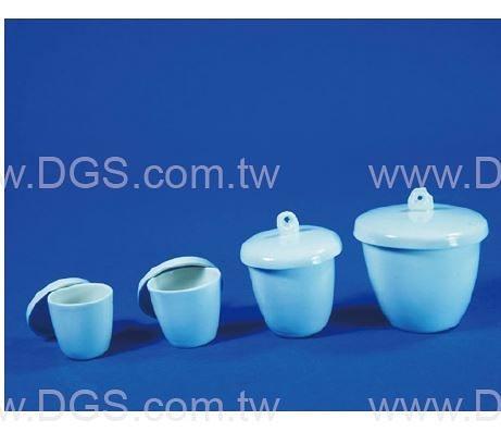 瓷坩堝 附蓋 經濟型 Ceramic Crucible