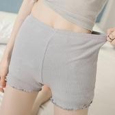 安全褲防走光女夏薄款加大碼保險褲打底短褲