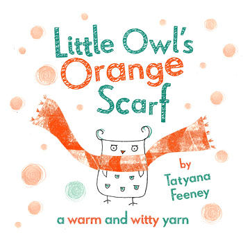 【麥克書店】LITTLE OWL'S ORANGE SCARF /英文繪本