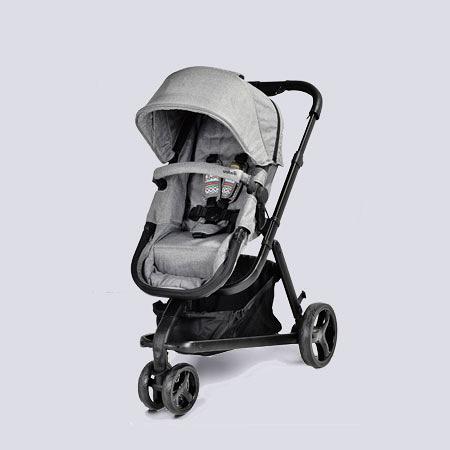 英國 unilove Touring 多功能嬰兒推車-經典灰【佳兒園婦幼館】