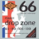 小叮噹的店 英國ROTOSOUND RS66LH (65-130) 電貝斯弦 DROP ZONE 不銹鋼 旋弦公司貨