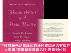 二手書博民逛書店Women罕見Writers And Poetic IdentityY255174 Margaret Homa